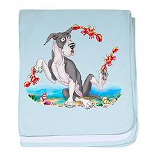 Great Dane Mantle Crabby Infant Blanket