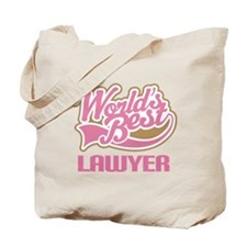 Worlds Best Lawyer Tote Bag