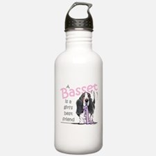 Basset Girls Friend Water Bottle