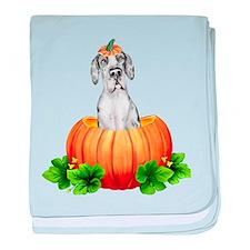 MerleQ Pumpkin Dane UC Infant Blanket