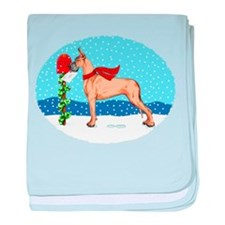 Great Dane Fawn Mail Infant Blanket
