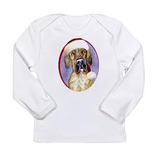Santa Dane Brindle UC Long Sleeve Infant T-Shirt