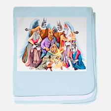 Great Dane Nativity Infant Blanket