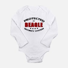 Beagle Security Long Sleeve Infant Bodysuit