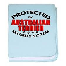 Australian Terrier Security Infant Blanket