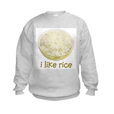 Rice Kids Sweatshirt