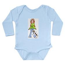 WFT Humpin No Txt Long Sleeve Infant Bodysuit