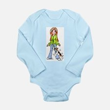 WFT Humpin No Txt Long Sleeve Infant Bodysuit