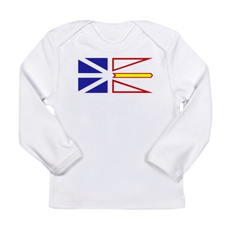 Newfoundland and Labrador Long Sleeve Infant T-Shi