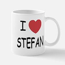 I heart Stefan Small Small Mug