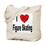 I Love Figure Skating Tote Bag