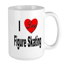 I Love Figure Skating Mug