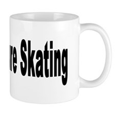 I Love Figure Skating Small Mug