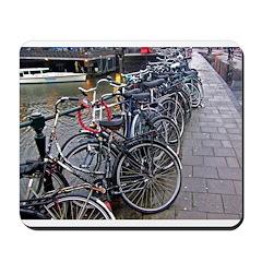 Bike Parking -- Amsterdam Mousepad