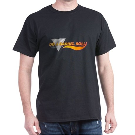 Do a barrel roll: Black T-Shirt