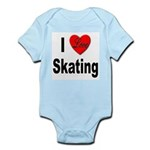 I Love Skating Infant Creeper