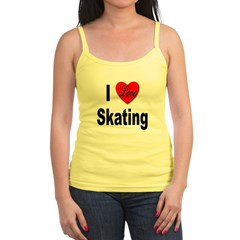 I Love Skating Jr.Spaghetti Strap