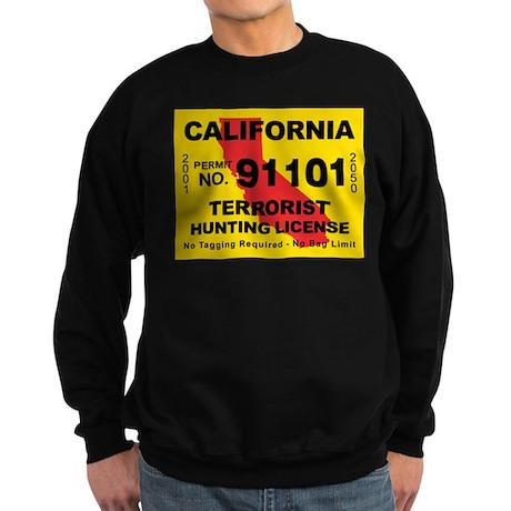 California Terrorist Hunting Sweatshirt (dark)
