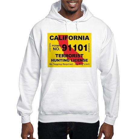 California Terrorist Hunting Hooded Sweatshirt