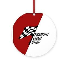 Fremont Drag Strip Ornament (Round)