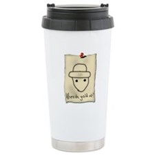 Gold Leprechaun Travel Mug