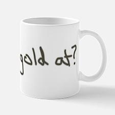 Gold Leprechaun Mug