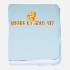 Gold Leprechaun Infant Blanket