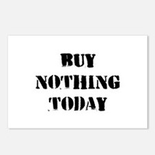 Buy Nothing Day Postcards (Package of 8)