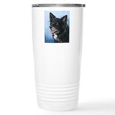 Border Collie Travel Coffee Mug