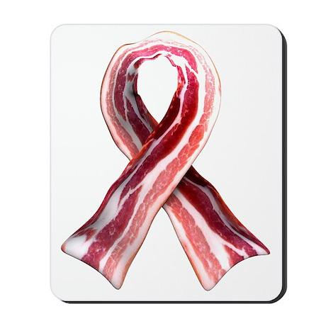 Bacon Ribbon Mousepad