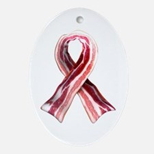 Bacon Ribbon Ornament (Oval)