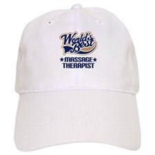 Worlds Best Massage Therapist Baseball Cap
