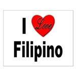 I Love Filipino Small Poster