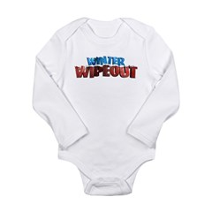 Winter Wipeout Long Sleeve Infant Bodysuit