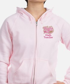 Math Teacher Gift Zipped Hoody