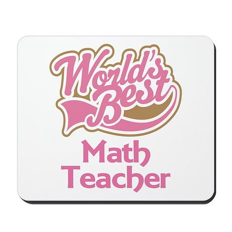 Math Teacher Gift Mousepad