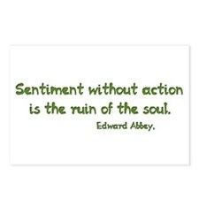 Sentiment Without Action Postcards (Package of 8)