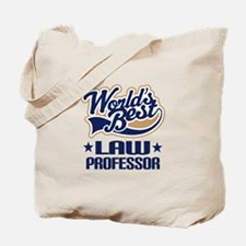 Worlds Best Law Professor Tote Bag
