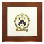 BARRILLEAUX Family Crest Framed Tile