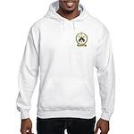 BARRILLEAUX Family Crest Hooded Sweatshirt