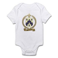 BARRILLEAUX Family Crest Infant Creeper