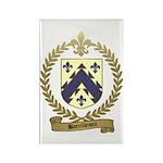 BARRILLEAUX Family Crest Rectangle Magnet