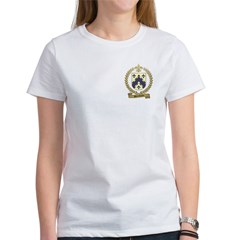 BARRILLEAUX Family Crest Women's T-Shirt