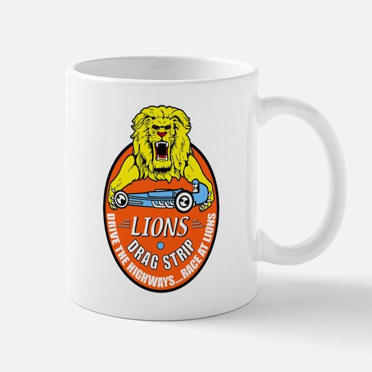 Lions Drag Strip Mug