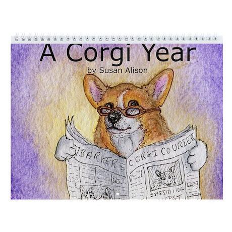 A Corgi Year - Wall Calendar - Uncaptioned