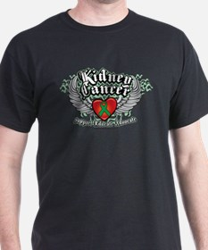 Kidney Cancer Wings T-Shirt