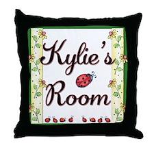 Little Ladybugs Throw Pillow - Script