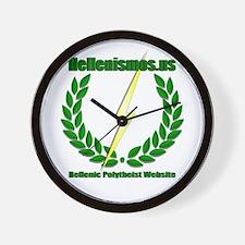 Hellenismos Wall Clock