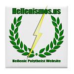 Hellenismos Tile Coaster