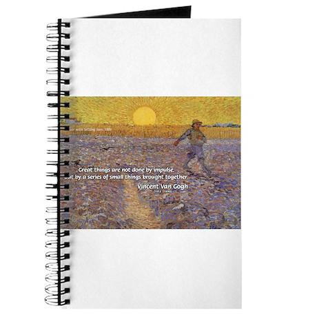 Vincent Van Gogh Paintings Journal
